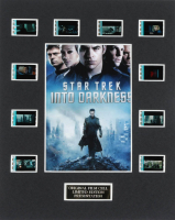 """Star Trek Into Darkness"" LE 8x10 Custom Matted Original Film / Movie Cell Display at PristineAuction.com"