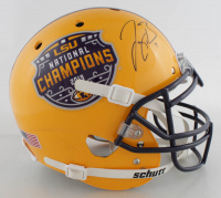 Joe Burrow Signed LSU Tigers 2019 National Champions  Full-Size Authentic On-Field Speed Helmet (Fanatics Hologram) at PristineAuction.com