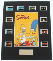 """The Simpsons"" LE 8x10 Custom Matted Original Film / Movie Cell Display at PristineAuction.com"