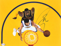 Stephen Curry Signed Warriors 11x14 Photo (PSA COA) at PristineAuction.com