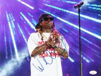 Lil Wayne Signed 11x14 Photo (JSA COA) at PristineAuction.com