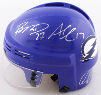 Ryan Mcdonagh, Alex Killorn, & Victor Hedman Signed Lighting Mini Helmet (Mcdonagh COA, Killorn COA & Hedman COA) at PristineAuction.com