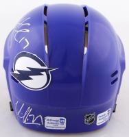 Ryan Mcdonagh, Alex Killorn, & Victor Hedman Signed Lighting Mini Helmet (Mcdonagh COA, Killorn COA & Hedman COA) at PristineAuction.com