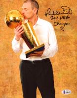 "Rick Carlisle Signed Mavericks 8x10 Photo Inscribed ""2011 NBA Champs"" (Beckett COA) at PristineAuction.com"