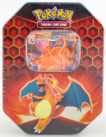 Pokemon TCG: Hidden Fates Tin - Charizard Factory Sealed at PristineAuction.com