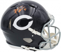 Brian Urlacher Signed Bears Full-Size Authentic On-Field Speed Helmet (Radtke COA) at PristineAuction.com
