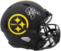 Troy Polamalu Signed Steelers Full-Size Eclipse Alternate Speed Helmet (Radtke COA) at PristineAuction.com