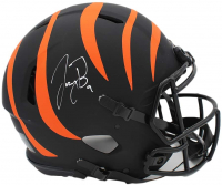 Joe Burrow Signed Bengals Full-Size Authentic On-Field Eclipse Alternate Speed Helmet (Fanatics Hologram) at PristineAuction.com