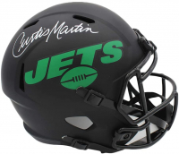 Curtis Martin Signed Jets Full-Size Eclipse Alternate Speed Helmet (Radtke COA) at PristineAuction.com