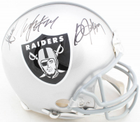 Bo Jackson, Marcus Allen, & Marshawn Lynch Signed Raiders Full-Size Authentic On-Field Helmet (Radtke COA) at PristineAuction.com
