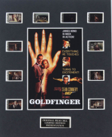 """Goldfinger"" LE 8x10 Custom Matted Original Film / Movie Cell Display at PristineAuction.com"