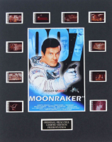 """Moonraker"" LE 8x10 Custom Matted Original Film / Movie Cell Display at PristineAuction.com"
