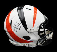 Joe Burrow Signed Bengals AMP Alternate Full-Size Authentic On-Field Speed Helmet (Fanatics Hologram) at PristineAuction.com