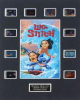 """Lilo & Stitch"" LE 8x10 Custom Matted Original Film / Movie Cell Display at PristineAuction.com"