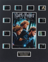 """Harry Potter & The Deathly Hallows – Part 1"" LE 8x10 Custom Matted Original Film / Movie Cell Display at PristineAuction.com"