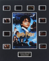 """Harry Potter & The Philosopher's Stone"" 8x10 Custom Matted Original Film Cell Display at PristineAuction.com"