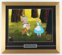 "Walt Disney's ""Alice in Wonderland"" 16x18 Custom Framed Animation Serigraph at PristineAuction.com"