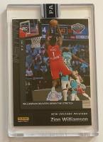 Zion Williamson 2019-20 Panini Instant Draft Night Black #DNZW at PristineAuction.com