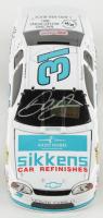 Dale Earnhardt Jr. Signed 1997 NASCAR #31 AkzoNobel / Sikkens White - 1:24 Premium Action Diecast Car (Dale Jr. Hologram & COA) at PristineAuction.com