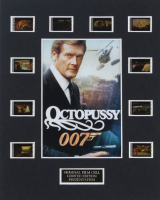 "James Bond ""Octopussy"" LE 8x10 Custom Matted Original Film / Movie Cell Display at PristineAuction.com"