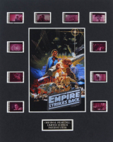 """""""Star Wars: The Empire Strikes Back"""" LE 8x10 Custom Matted Original Film / Movie Cell Display at PristineAuction.com"""