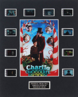 """Charlie & The Chocolate Factory"" LE 8x10 Custom Matted Original Film / Movie Cell Display at PristineAuction.com"