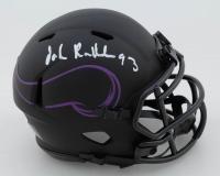 John Randle Signed Vikings Eclipse Alternate Speed Mini Helmet (JSA COA) at PristineAuction.com