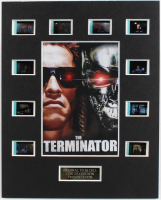 """The Terminator"" LE 8x10 Custom Matted Original Film / Movie Cell Display at PristineAuction.com"