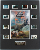 """Jurassic World: Fallen Kingdom"" LE 8x10 Custom Matted Original Film / Movie Cell Display at PristineAuction.com"