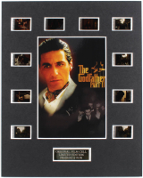 """The Godfather: Part II"" LE 8x10 Custom Matted Original Film / Movie Cell Display at PristineAuction.com"