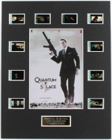 """Quantum of Solace"" LE 8x10 Custom Matted Original Film / Movie Cell Display at PristineAuction.com"