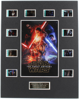 """Star Wars: The Force Awakens"" LE 8x10 Custom Matted Original Film / Movie Cell Display at PristineAuction.com"