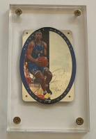 "Anfernee ""Penny"" Hardaway 1996 UDA SPx Tribute #T1 Autograph Card with Acrylic Display Case (UDA Hologram) at PristineAuction.com"