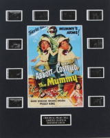 """Abbott and Costello Meet The Mummy"" LE 8x10 Custom Matted Original Film / Movie Cell Display at PristineAuction.com"