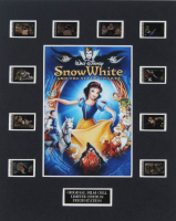 """Snow White And The Seven Dwarfs"" LE 8x10 Custom Matted Original Film / Movie Cell Display at PristineAuction.com"