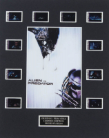 """Alien vs. Predator"" LE 8x10 Custom Matted Original Film / Movie Cell Display at PristineAuction.com"