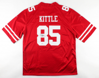George Kittle Signed 49ers Jersey (Beckett COA) at PristineAuction.com