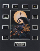 """The Nightmare Before Christmas"" LE 8x10 Custom Matted Original Film / Movie Cell Display at PristineAuction.com"