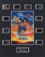 """Aladdin"" LE 8x10 Custom Matted Original Film / Movie Cell Display at PristineAuction.com"
