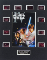 """Star Wars: A New Hope"" LE 8x10 Custom Matted Original Film / Movie Cell Display at PristineAuction.com"