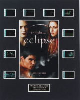 """The Twilight Saga: Eclipse"" LE 8x10 Custom Matted Original Film / Movie Cell Display at PristineAuction.com"