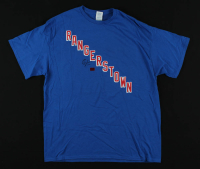 Chris Kreider Signed Rangers T-Shirt (Kreider COA) at PristineAuction.com