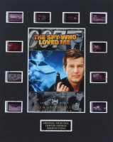 "James Bond ""The Spy Who Loved Me"" LE 8x10 Custom Matted Original Film / Movie Cell Display at PristineAuction.com"