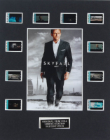 "James Bond ""Skyfall"" LE 8x10 Custom Matted Original Film / Movie Cell Display at PristineAuction.com"