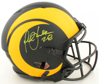 Marshall Faulk Signed Rams Full-Size Authentic On-Field Eclipse Alternate Speed Helmet (Beckett COA) at PristineAuction.com