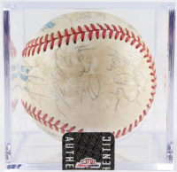 1985 Royals OAL Baseball Team-Signed by (20) With Dick Howser, Greg Pryor, Hal McRae & Charlie Leibrandt with Display Case (Sportscards LOA) at PristineAuction.com