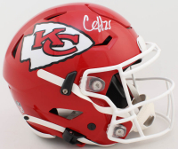 Clyde Edwards-Helaire Signed Chiefs Full-Size Authentic On-Field SpeedFlex Helmet (Beckett COA) at PristineAuction.com