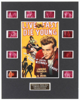 """Rebel Without a Cause"" LE 8x10 Custom Matted Original Film / Movie Cell Display at PristineAuction.com"
