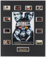 """2 Fast 2 Furious"" LE 8x10 Custom Matted Original Film / Movie Cell Display at PristineAuction.com"