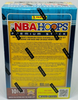 2019-20 NBA Hoops Premium Stock Basketball Blaster Box with (8) Packs at PristineAuction.com